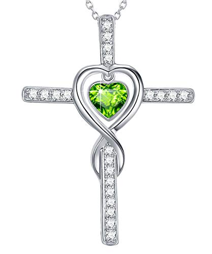 Green Peridot Pendant - 5