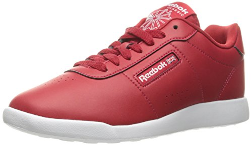 Reebok Women's Princess Lite Classic Shoe Excellent Red/White