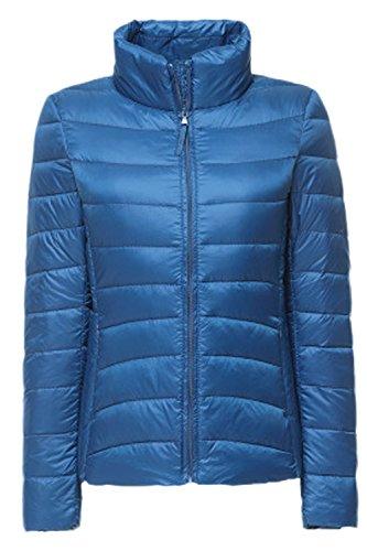 Invierno Ultralight Plussize Abajo La Mujer Parkas Blue Pato Casual Acolchadas Blanco Outcoat 8qx4wCt