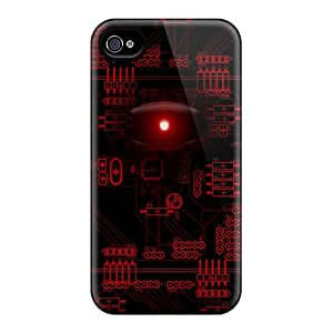 Hot Fashion KYbIfjh1848hIndl Design Case Cover For Iphone 4/4s Protective Case (droid Eye)