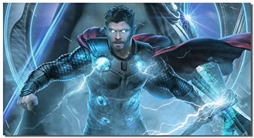 - Picture Sensations® Framed Canvas Art Print, Thor Avengers Endgame Marvel Superheroes - 36