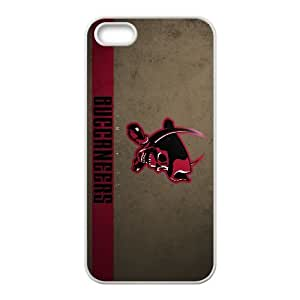 Tampa Bay Buccaneers Team Logo iPhone 5 5s Cell Phone Case White persent zhm004_8512437