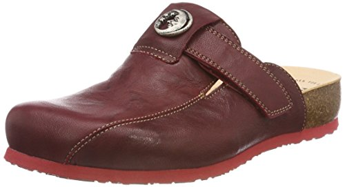 Think! Women's Julia_383349 Clogs Red (Rosso/Kombi 72) STdVq