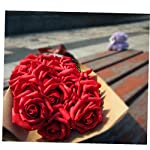 25Pcs-Foam-Rose-Flower-Artificial-Rose-Flowers-Handmade-DIY-Wedding-Home-Decoration-Festive-Party-Supplies-Red