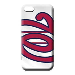 diy zheng Ipod Touch 5 5th Strong Protect Eco-friendly Packaging trendy phone back shell washington nationals mlb baseball