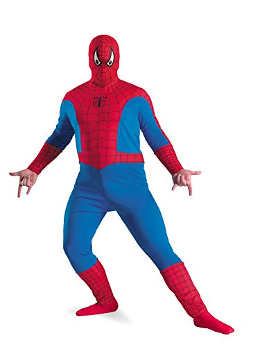 Spiderman Adult Plus 50-52 Halloween Costume - Adult 50-52