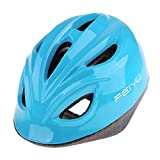 perfk Kids Adjustable Helmet Sports Protective Gear Cycling Helmet Roller Bike Skateboard - Sky Blue