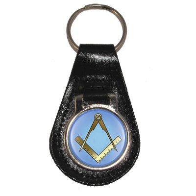 À Maçonnique 1stopshops Motifs En clés Boussole Cuir Règle Bleu Et Avec Porte v8rwFWqv