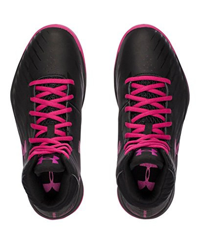 Scarpe Da Basket Under Armour Da Donna E Jet Nero / Rosa Tropico