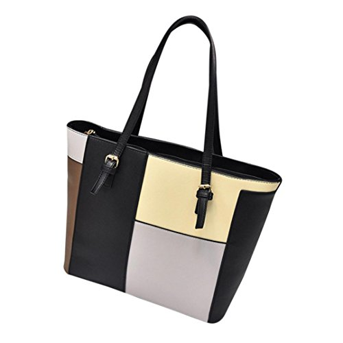 Women Large Shoulder Bag Cross-body Bags Leather Handbag Cheap for Girl by TOPUNDER D by TOPUNDER