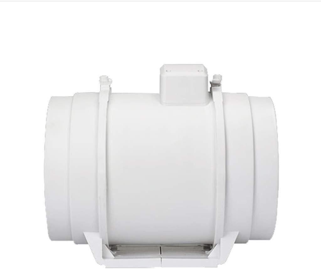 Ventilador de escape de 8 Pulgadas Baño Cocina Ventilación Hogar Impermeable Clasificación: IP4X Potencia de Entrada: 120w / 130w Volumen de Aire: 720 / 900m3 / h