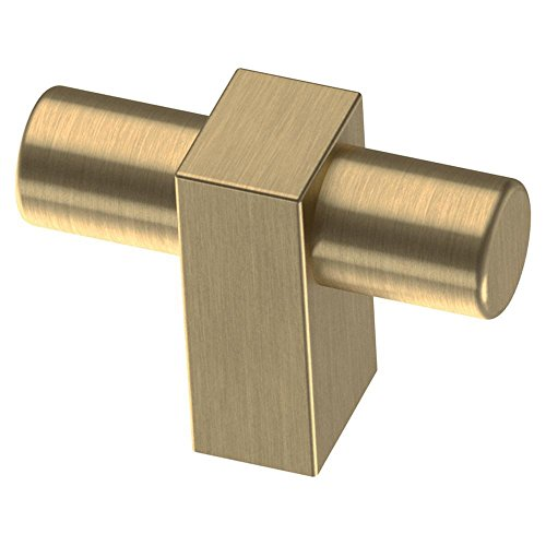 Large Faucet Cabinet Knob (Champagne Bronze Cabinet Knob Brass Cabinet T-Knob Drawer Pull)