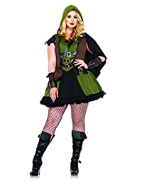 Leg Avenue Women's Plus-Size 3 Piece Darling Robin Hood