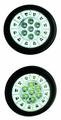 - IPCW LEDT-353C Crystal Clear LED Tail Lamp - Pair
