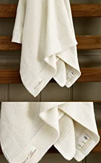 90cm x 90cm Natures Purest Natures Knits Cable Border Blanket