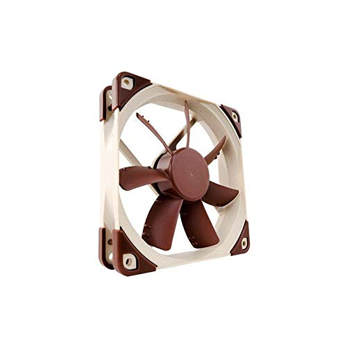 Noctua NF-S12A PWM, Premium Quiet Fan, 4-Pin (120mm, Brown) by NOCTUA