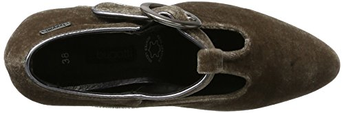 Bugatti Damer 412279716900 T-slides Pumps Brun (taupe) rlIa8UGete