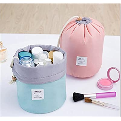 1 Set Travel Makeup Toiletry Bathroom bag Travel Kit Organizer Cosmetic Bag- Rose Color