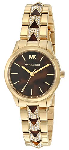Michael Kors Runway Mercer Three-Hand Stainless Steel Watch