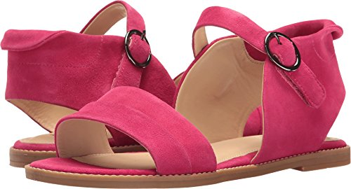 Hush Puppies Women's Abia Chrissie Vl Flat Sandal, Persian Rose Suede, 5.5 M US by Hush Puppies