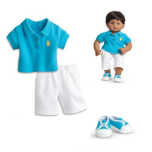 """American Girl Bitty Twins Sunny Fun Outfit in Bag for 15"""" Dolls (Doll Not Included)"""