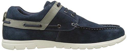 Hush Puppies Naviseals, Zapatos de Cordones Derby para Hombre azul (Marine)