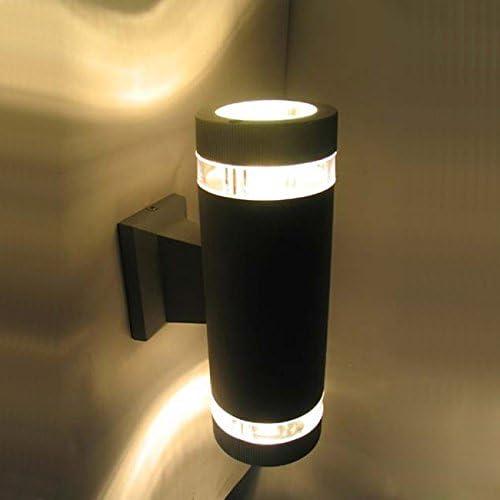 LUMINTURS 6W E27 LED-Bulb-Replaceable Wall Sconces Outdoor Up Down Light War.