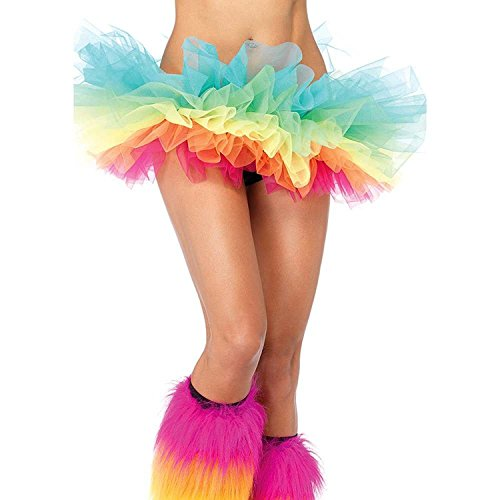Aimerfeel femmes intimes couleur 5 jupe tutu multicouche