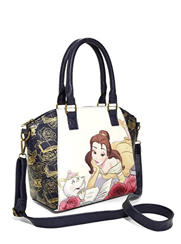 Loungefly Disney Beauty And The Beast Reading Satchel