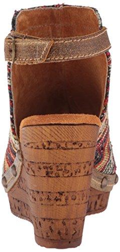 WoMen Brown Wedge Sabari Sbicca Multi Sandal dwqSWp