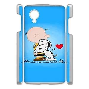 Google Nexus 5 Phone Case White Charlie Brown and Snoopy IH4504537