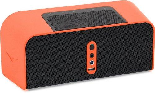 klipsch kmc 1 orange portable speaker with bluetooth orange discontinued by manufacturer. Black Bedroom Furniture Sets. Home Design Ideas