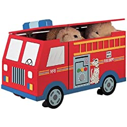 FIRE ENGINE TOY BOX KIDS