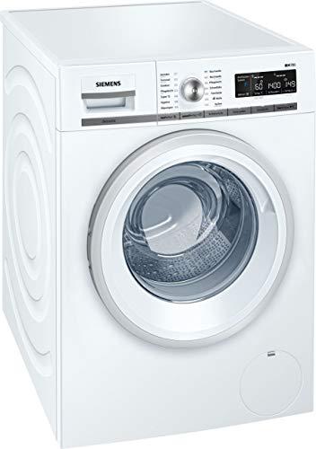 Siemens iQ700 WM14W570 Waschmaschine / 8,00 kg / A+++ / 196 kWh / 1.400 U/min / Schnellwaschprogramm / Nachlegefunktion…