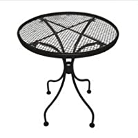 DC America WIT118 Charleston Wrought Iron End Table from DC America