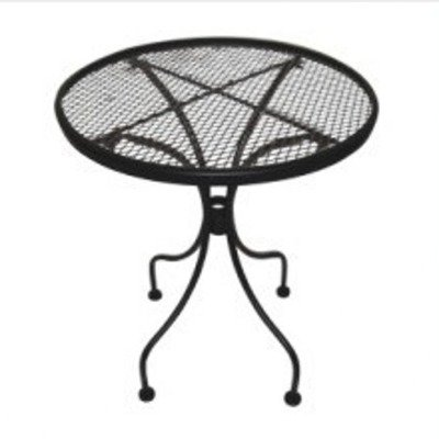 DC America WIT118 Charleston Wrought Iron End Table For Sale