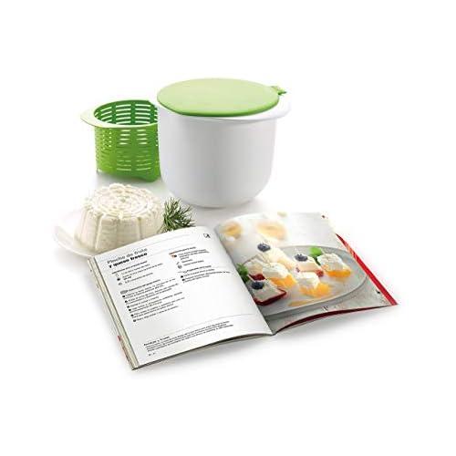 chollos oferta descuentos barato Lékué Kit para elaborar queso fresco y libro de recetas en español