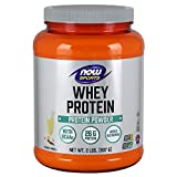 NOW Sports Whey Protein, Creamy Chocolate, 2-Pound