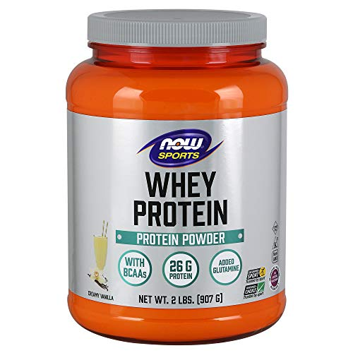 NOW Sports Nutrition, Whey Protein Powder, Creamy Chocolate, 2-Pound