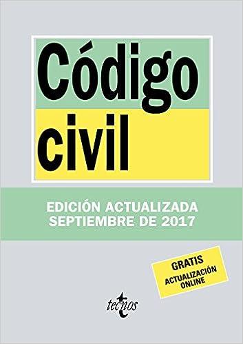 Código Civil (Derecho - Biblioteca De Textos Legales): Amazon.es ...