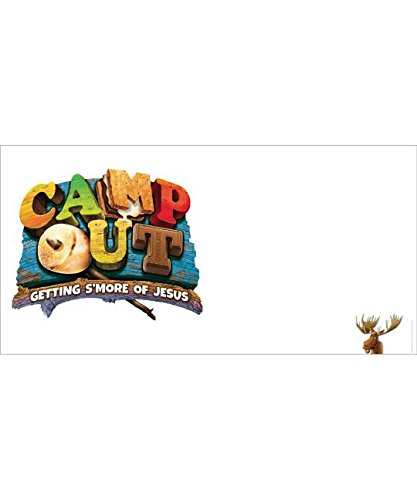 Camp Out Giant Outdoor Banner (Group Weekend Vbs 2017) -