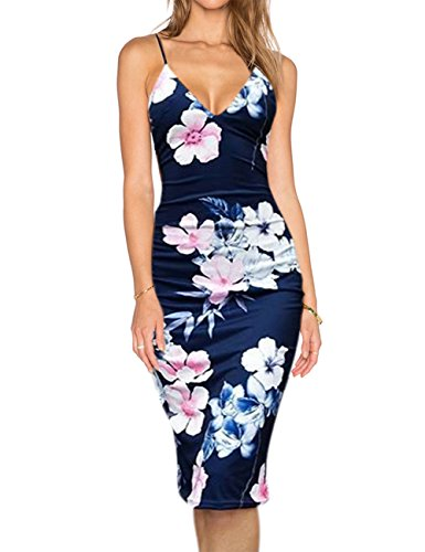 Liebeye Women's Sexy Spaghetti Strap Bodycon Sleeveless Backless Velvet Short Club Dress