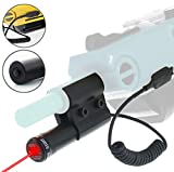 Auroluxe Bug A Salt 2.0 Tactical Laser Sight Beam with Pressure Switch | Bug & A Fly Salt Gun Accessory | Aiming Scope shotgun Fit All Fly Shotgun Edition Add-On | Lawn & Garden Insect Eradication