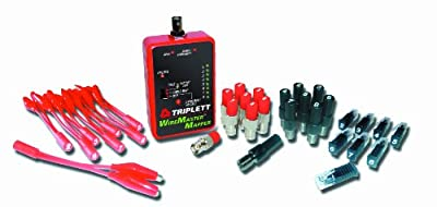 Triplett WireMaster 3281 Wire and Cable Mapping Kit with Tracer Tone, 39 Remotes, and Carrying Case