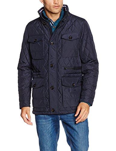 Azul Abrigo JKT para Hombre Hilfiger Tommy Midnight Quilted Px61q8Y