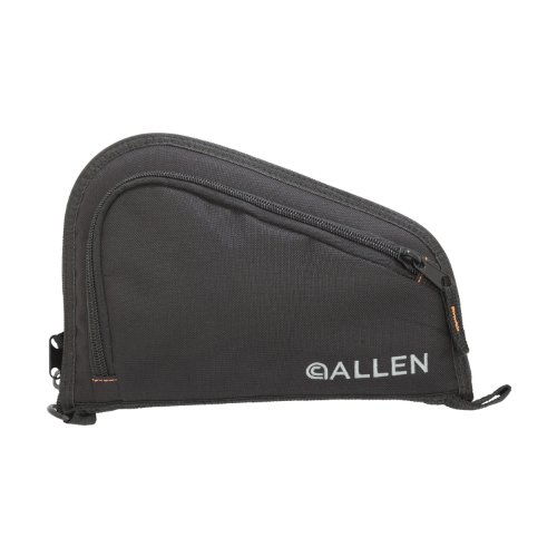 Allen Auto-Fit Compact Handgun Case, Black, 4-Inch Barrel