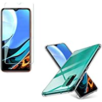Kit Capinha Anti Impacto Anti Shock Xiaomi Redmi 9T Bordas Reforçadas + Película Vidro