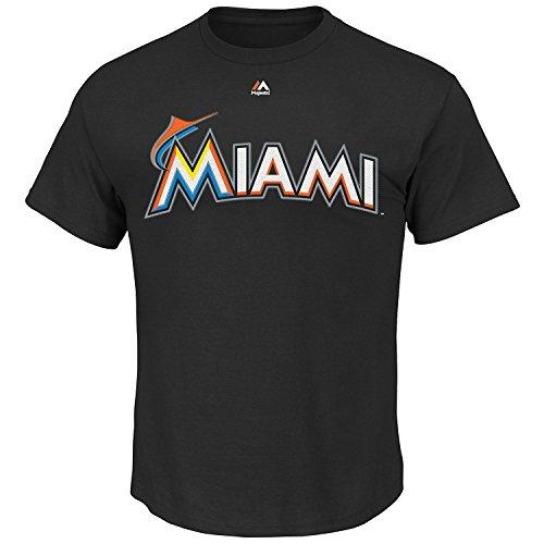 Miami Marlins Men's Team Wordmark T-Shirt (Small) – DiZiSports Store