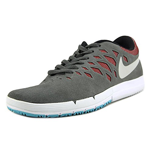 Nike Free 5.0 Tr Fit 4, Sneaker Donna Dark Grey/White-Team Red-Black