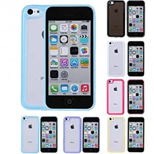 Clear Ultra Thin Matte TPU Gel Case Cover Skin Bumper For iPhone 5C --- Color:Yellow